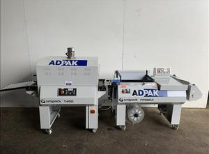 Tunnel de rétraction Adpak  FP560A L-sealer and shrink tunnel