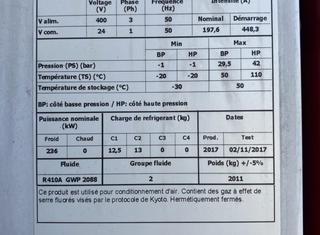 LENNOX NAC230DNM5M P00925137