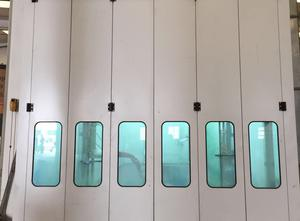 USI Italy. MASTER IND. Spray booth