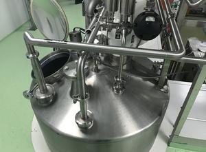 Serbatoio Pierre Guerin inox, 1600 litres