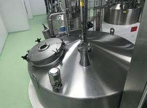 Cuve Pierre Guérin inox, 3000 litres