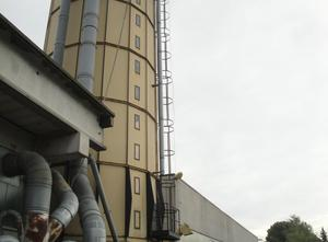 SILOS 200 M3 Dust collector