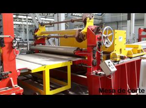 Athader LCT 1500 Transversal cutting line for aluminum coils