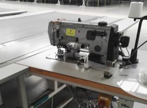 Maszyna do lamowania materacy z taśmociągiem Durkopp Adler 195