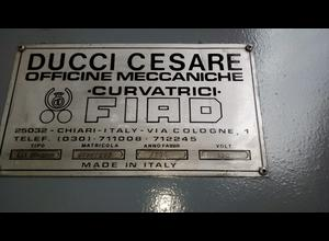 Cilindro de curvar Ducci FIAD CL1 2500 X 15