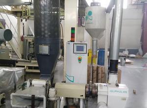 PLASMAC ALPHA 45. 1057A45AC (Model A45-AC) Extrusionsanlage
