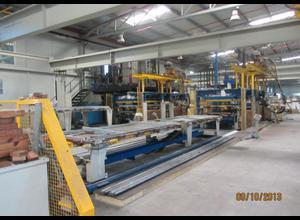 Kompletní linka na výrobu sendvičového panelu pro chladné místnosti Manni, Cannon, Dimeco D-C-M  757