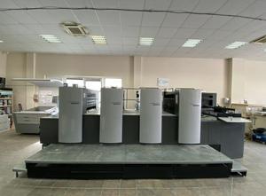 Heidelberg SM 74-4 4 Farben Offsetdruckmaschine