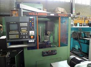 Centro di lavoro verticale usato Willemin W 400