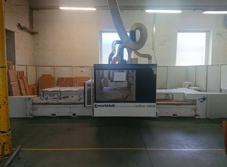 SCM Morbidelli Author M 600 Wood CNC machining centre Used ...
