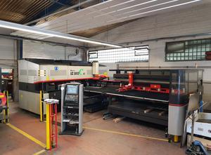 Machine combinée poinçonneuse-laser Amada LC 2012 C1 NT 2.5kW + PR-C1 + MP 2512-C1