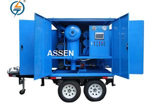 ASSEN ZYD-M-50 3000L/h Mobile type Transformer Insulating Oil Purifier Machine