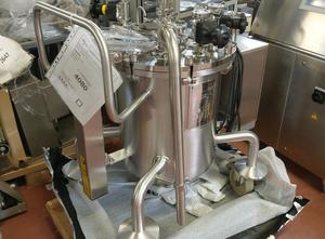 3C 90 litres inox Etikettiermaschine