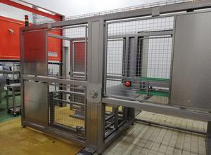 Tunnel für Waschkästen (Paletten oder Wannen) und Schneidwagen MIMASA TE-2500