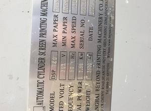 SHANGHAI BEYOND PRINTING MACHINERY CO.,LTD DSP 720 Siebdruckmaschine