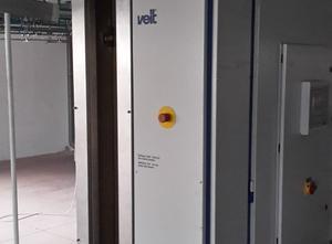 VEIT tunnelfinisher variant 3 & waterjet spray unit 8670