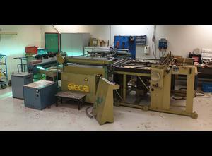 Svecia  SAM Silc Screen Press, 1 C  Siebdruckmaschine