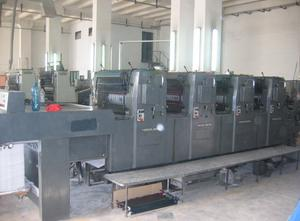 Heidelberg EMO Offset four colours
