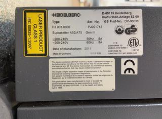 Heidelberg Suprasetter A75 P01026007