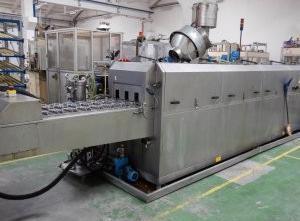 Fuhr ALGS2-10 - G50-A2 Glaswaschmaschine / Glasbeschichtungsmaschine