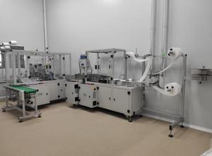 Kompletní produkční linka Protective Hygienic Surgical Mask Machine -