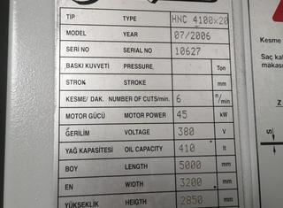 Baykal HNC 4100x20 P91021011