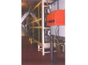 Coprind Mandelschälanlage, einschließlich Mandelmehlmaschine.