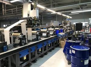 Gallus EM410 Label printing machine