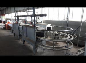 Machine de découpe, lavage et blanchiment de fruits et légumes Koppert washing machine with air support