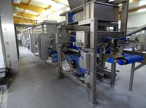 Ligne complète de production de pains Rademaker, Miwe, ABB, Hewa Artisan bread production line