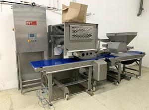 Ligne complete de production de pâtes ou pizza BVT Topping unit