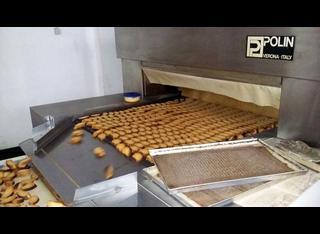 Diosna, Benier, Fanuc, Trivi, Termopan, Gasparin, Simonetti Complete rusk/toasted bread and tin bread line P01106023