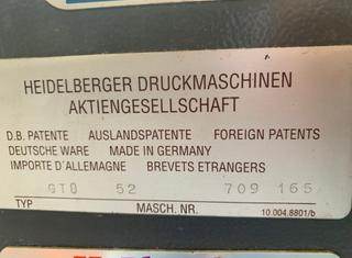 Heidelberg GTO 52-1 P01106147