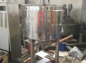 Used Mixer 400 lt Liquid mixer