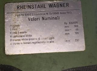 Wagner 630ton P01112036
