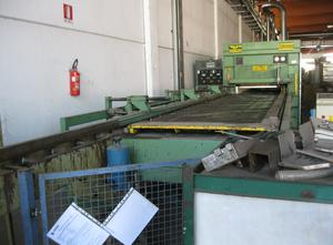 Plant for the production of blockboard panels Baioni Presse BP / T