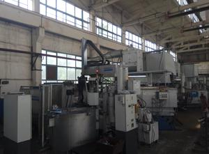 Used Frech 350 Metric Ton Horizontal Cold Chamber Aluminum High Pressure Die Casting Machine.