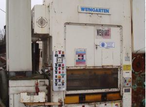 Weingarten 100ton Presse