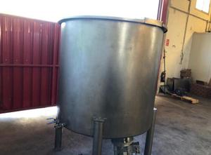 Atex 2500 liter Behalter