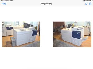 Xerox C570 Digital press
