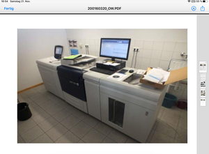 Xerox 770DCP Digital press