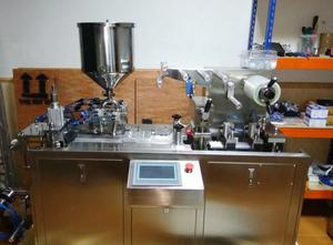 OMEGA CNC SYSTEMS Máquina envasadora monodósis tarrinas Blistermaschine