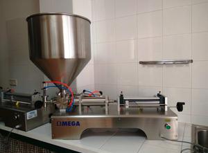 Riempitrice OMEGA CNC SYSTEMS Máquina llenadora dosificador volumétrico