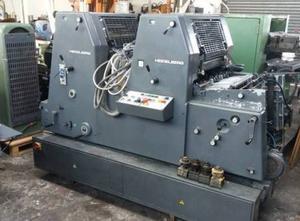 Heidelberg GTOZP 52 Offsetdruckmaschine 2 Farben