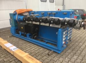 Stroj na vytlačování - Extrudér jednošroubový KRAUSS MAFFEI KME 1-75-36B