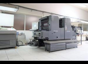 HEIDELBERG MOZ -S Offsetdruckmaschine 2 Farben