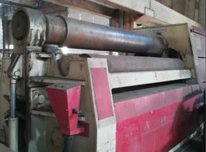 Akyapak AHS 30/32 Blechrundbiegemaschine - 4 Walzen