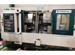 Monforts DNC 3 Drehmaschine CNC