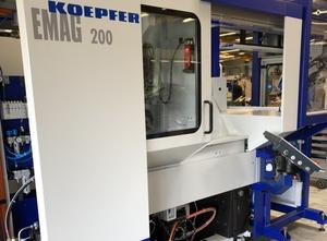 Odvalovací fréza na ozubení cnc Koepfer K 200