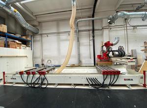 Used Ima Bima 410 / V / 140/600 Wood CNC machining centre